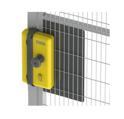 Safe Escape Lock – Zamek z wkładką cylindryczną na klucz oraz wbudowaną krańcówką bezpieczeństwa
